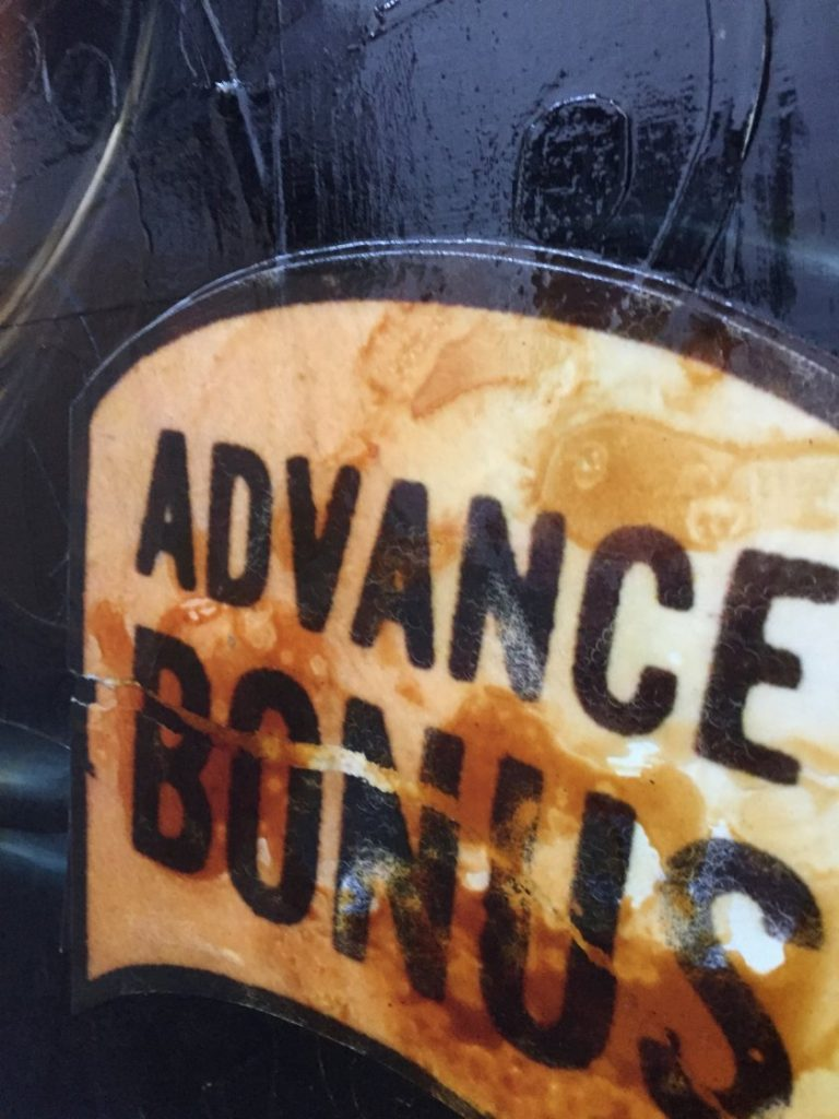 Advanced bonus