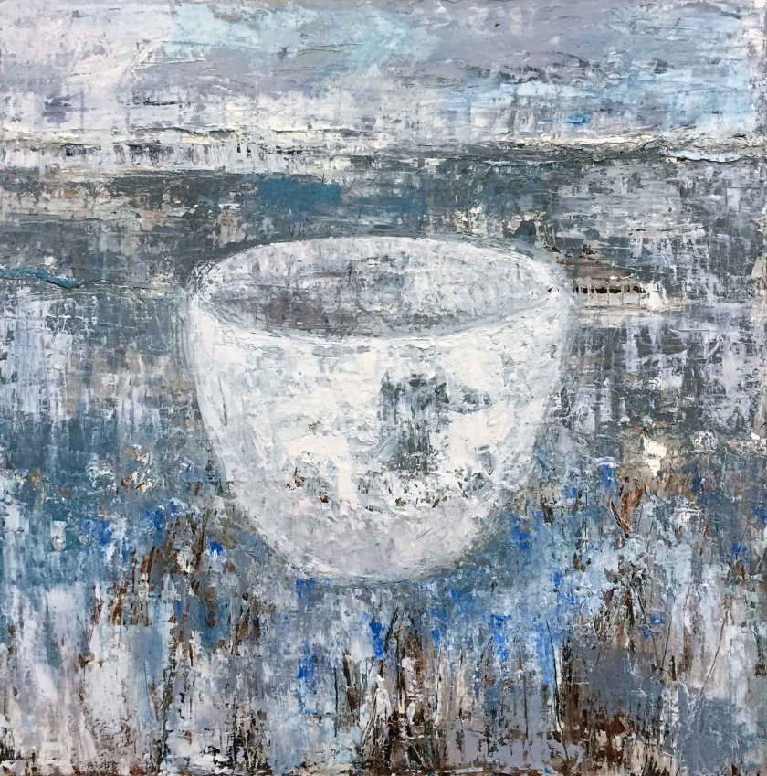 Bowl in landscape