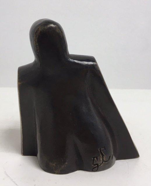 Zittende Vrouw – brons