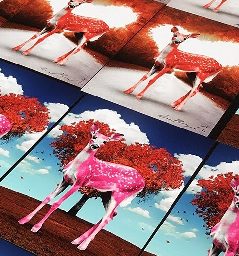 Oh Deer Valentine – Bambi Pink