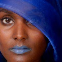 Femme de Monde Bleu I