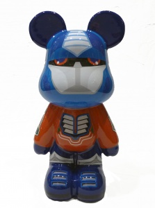 Funky Terminator bear (large)