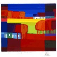 Kleurrijke velden I