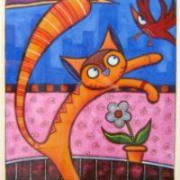 Jumping Johny the Cat