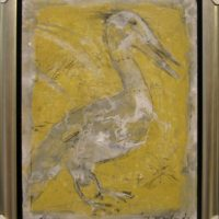 Oiseau jaune I