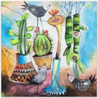 Paísaje de Cactus