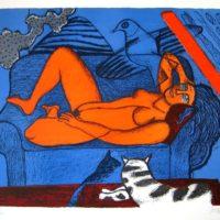 Femme au divan