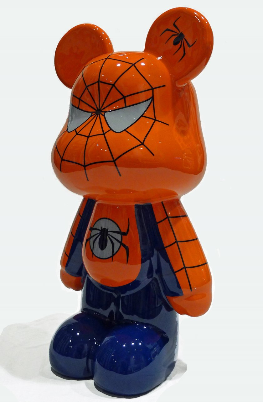 Funky Spiderman bear (large)