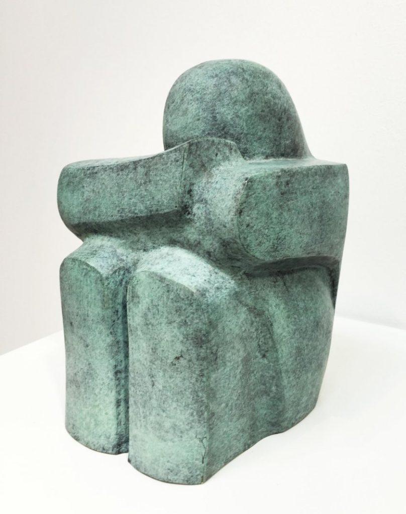 De Denker – Gepatineerd brons