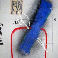 Transversale bleu