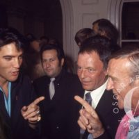 Elvis Presley, Frank SInatra, Fred Astaire