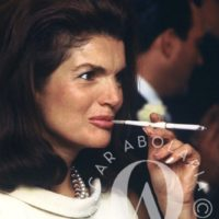 Jackie Kennedy smoking