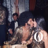 Sly Stone and Kathy Silva