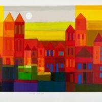 Kleurrijke stad