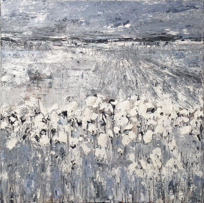 Landschap in wit
