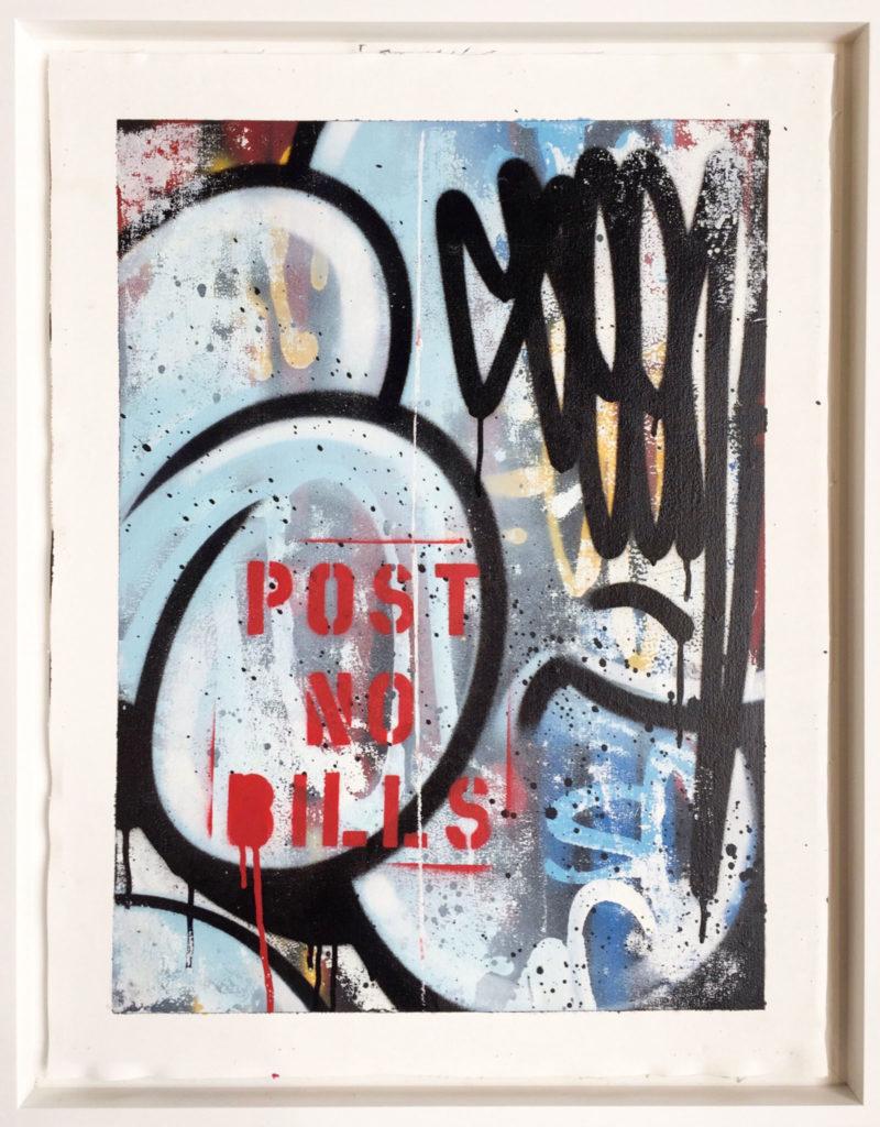 PNB RAW Bubble series – Post no Bills