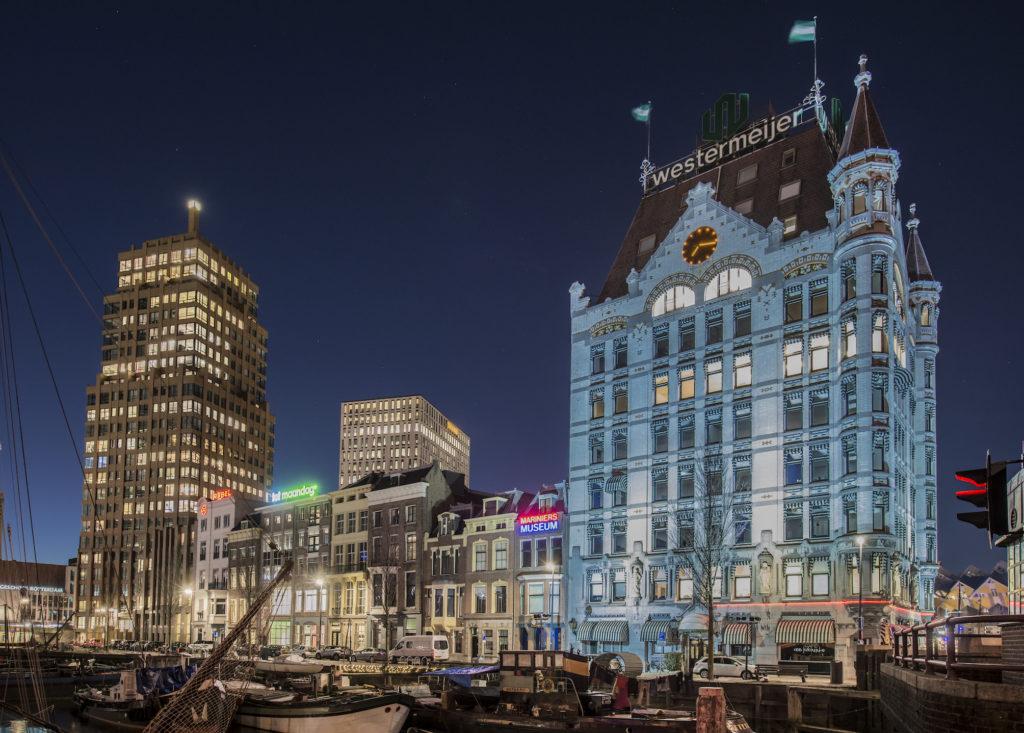 Rotterdam -Het witte huis