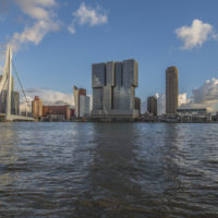 Rotterdam Skyline by Day