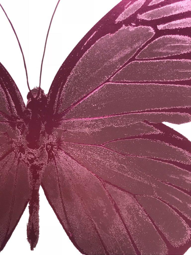 The Souls I, Loganberry Pink – Blind Impression – Fuchsia Pink