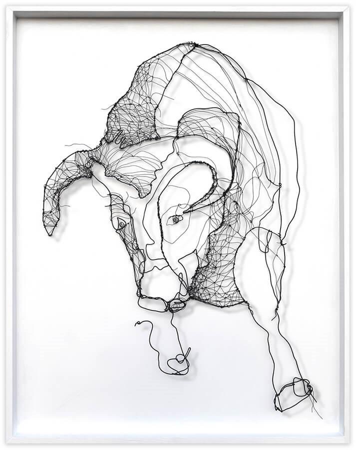 Galope de toro