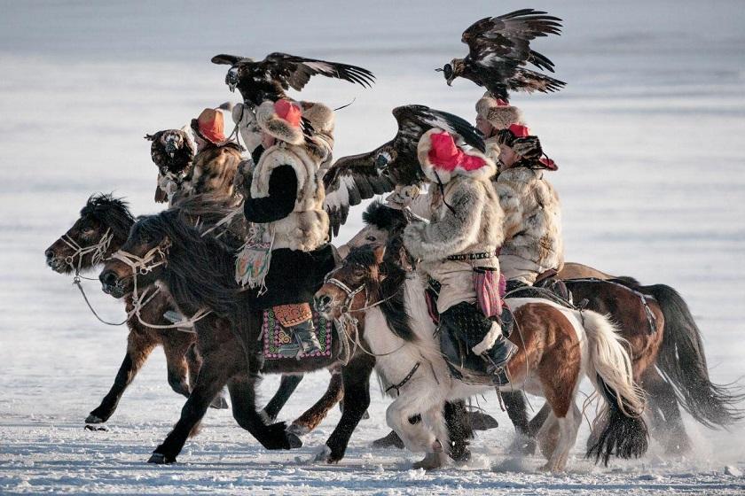 Khoyor Tolgoi Hill, Altantsogts County Bayan Ulgii Provence, Mongolia
