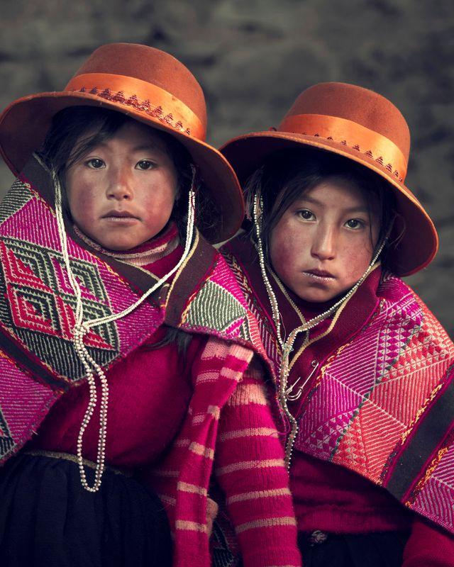 Marilena and Marisol, Qéro Andes – Peru