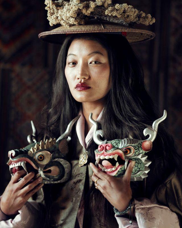 Sonam, Gantey Bhutan