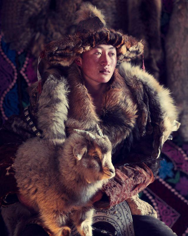 Èsker Eagle Hunter Sagsai, Bayan Ulgii Province, Mongolia