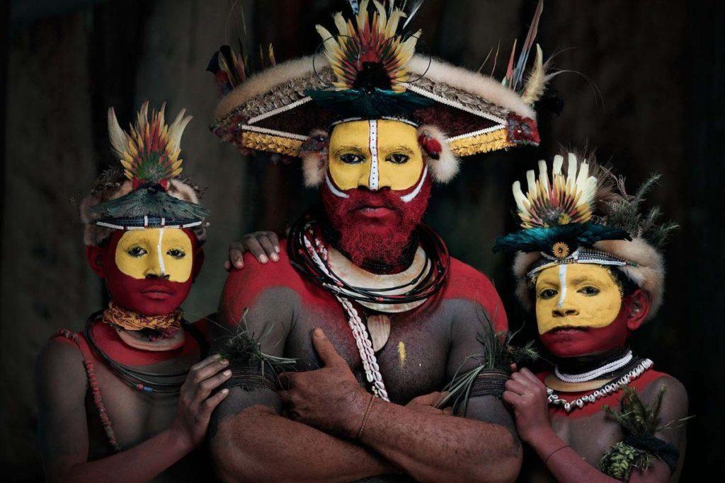 Huli Wigmen, Tari, Papua New Guinea, 2017