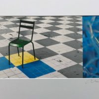 Chaise carreaux