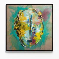 Serie Retratos; Neon 5