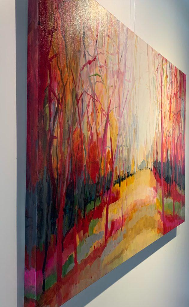 As autumn landscape colours