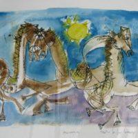 Cavalli azzurro