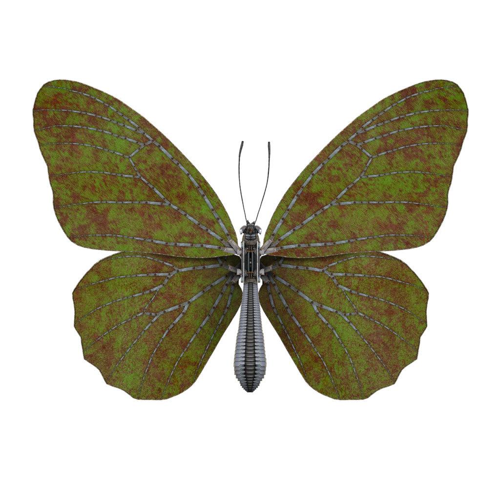 Butterfly III – green