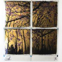 Gilded forrest – Gold / Purple