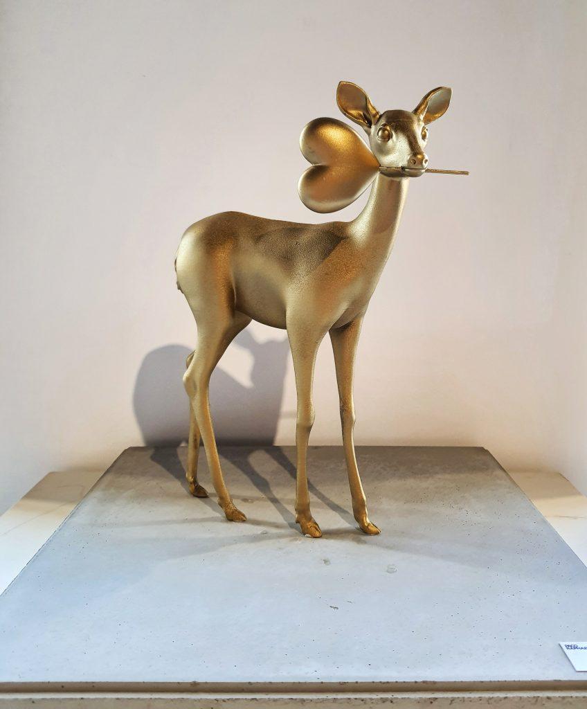 Love Deer (Gold)