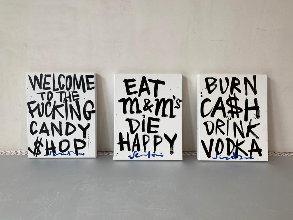 Burn ca$h Drink Vodka