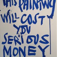 This Painting will cost you..