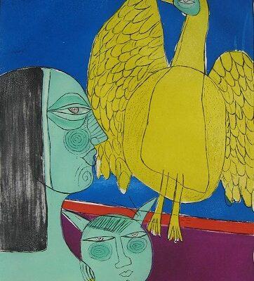 Corneille-Grand Oiseau Familiere