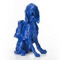 Cloned Bloodhound with Backpack – Blue