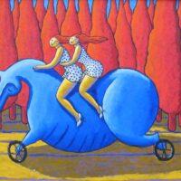 2 riding the blues