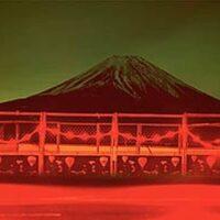 Roadworks and Mount Fuji, Near Kawaguchiko, Japan, 1999.