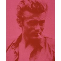James Dean – Pink and Red