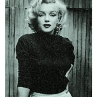 Marilyn Bombshell, Love Blue and Black.
