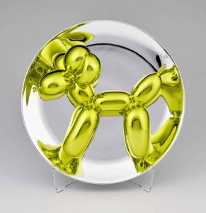 Balloon Dog Yellow